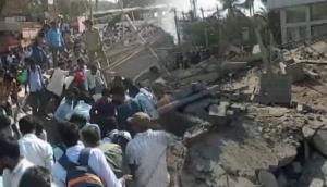2 dead, over 50 feared trapped as building collapses in K'taka's Dharwad; 28 rescued