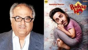 Boney Kapoor to remake Ayushmann Khuranna's Badhaai Ho in four regional languages