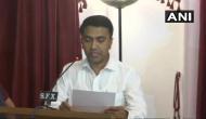 पर्रिकर के निधन के बाद अब प्रमोद सावंत संभालेंगे गोवा की कमान, आधी रात को ली मुख्यमंत्री पद की शपथ
