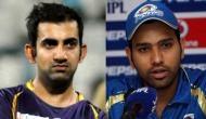 IPL में रोहित शर्मा और गौतम गंभीर ने बनाया है शर्मनाक रिकॉर्ड, हरभजन सिंह हैं टॉप पर