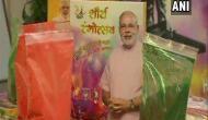 Ahead of Lok Sabha elections, 'Shaurya Gulaal' being sold at Jaipur BJP office