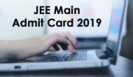 JEE Main Admit Card 2019: Get ready to download your hall tickets for Paper I and Paper II