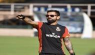 Watch Video: Virat Kohli receives a surprise guest at RCB training camp