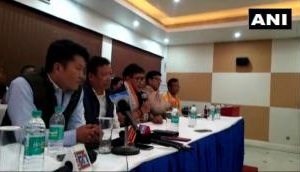 Big jolt for BJP as two ministers and six MLAs join NPP in Arunachal Pradesh