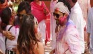 Holi 2019: Lovebirds Varun Dhawan-Natasha Dala, Farhan Akhtar-Shibani Dandekar celebrated festival of colours; see pics