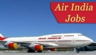 Air India Recruitment 2019: Jobs for candidates above age 60; here's how to apply for the post