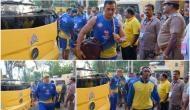 IPL 2019: MS Dhoni and boys arrive at their den for the opener against Virat Kohli's RCB