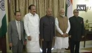 Justice PC Ghose sworn in as new Lokpal chief, President Kovind administers oath