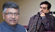 BJP silences Shatrughan Sinha, fields Ravi Shankar Prasad from Patna Saheb