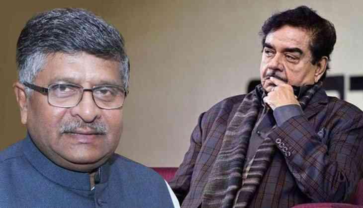 Image result for पटना साहेब से शत्रुघन सिन्हा vs रवि शंकर प्रसाद -