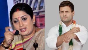 Rahul Gandhi must speak up on IT raids against Kamal Nath's aides, says Smriti Irani