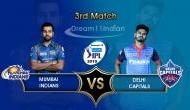 IPL 2019 MI vs DC: मुंबई इंडियंस की पलटन ने जीता टॉस, दिल्ली कैपिटल्स से होगा शानदार मुकाबला