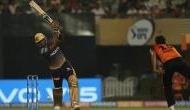 रसेल की तूफानी पारी की बदौलत KKR ने हैदराबाद को 6 विकेट से हराया