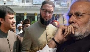 ओवैसी ने PM मोदी को लेकर दिया ओछा बयान- प्रधानमंत्री को चौकीदार की टोपी और सीटी देकर..