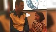 IPL 2019: जीवा का सुपर क्यूट वीडियो मचा रहा है धमाल, बेटी को भोजपुरी सिखा रहे हैं धोनी