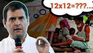 Rahul Gandhi makes Mathematical blunder while unveiling minimum income support scheme; Netizen troll 'RaGa' brutally