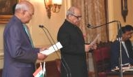Eight newly appointed Lokpal members take oath of office