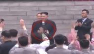 तानाशाह किम जोंग की भीड़ में छिप गई गर्दन तो फोटोग्राफर के साथ किया ऐसा...