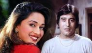 Video: माधुरी दीक्षित के साथ Kissing सीन के दौरान बेकाबू हो गए थे विनोद खन्ना, काट लिए थे होंठ