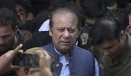 Former Pakistan's PM Nawaz Sharif walks out of prison after 3 months on medical grounds