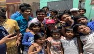 Watch: Kevin Pietersen stopped by to play gully cricket with Bangalore kids before an IPL match