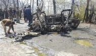 CRPF काफिले के पास कार में 'सिलेंडर ब्लास्ट', पुलवामा की तरह आतंकी हमले की साजिश से नहीं इनकार