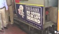 Lok Sabha Elections 2019: EC, Railways collaborate, vinyl wrap on trains urge voters to cast votes