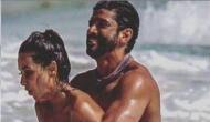 Shibani Dandekar and Farhan Akhtar set the internet on fire with their hot shot beach romance; pics inside