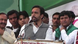 Jayant Chaudhary takes a dig at BJP over UP MP-MLA shoe fight, calls it a 'jutiya' party