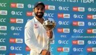 पिछले 29 महीनों से टेस्ट क्रिकेट में है भारत का दबदबा, लगातार तीसरे साल जीती टेस्ट 'गदा'