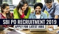 SBI PO Recruitment 2019: Job Alert! Online application process starts for 2000 vacancies; here's how to apply
