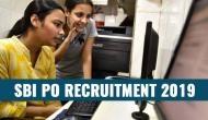 SBI PO Recruitment 2019 : स्टेट बैंक में PO बनने का शानदार मौका, 2000 पदों पर निकली वैकेंसी