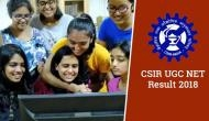 CSIR UGC NET Result 2018: Here's the official link to check your NET exam June 2018 result