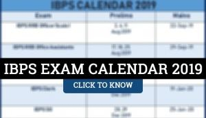 IBPS Exam 2019 Calendar: Check out the official dates for PO, Clerk and RRB exam