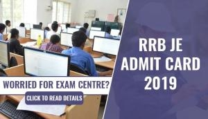 RRB JE Admit Card 2019: Worried for your exam centre? Check this important information about CBT 1