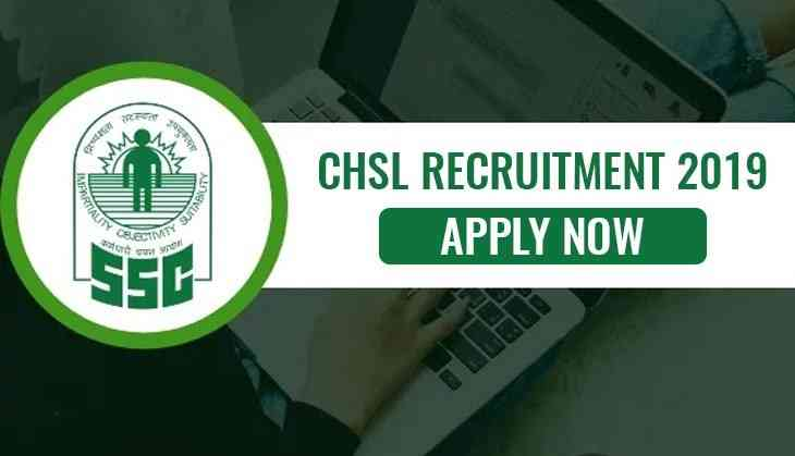 SSC CHSL 2019 Application closes tomorrow @ssc.nic.in, check steps to apply here