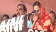 Watch: Jaya Prada breaks down in Rampur rally recalling alleged 'acid attack attempt by Azam Khan'