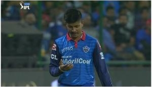 The funniest video of IPL 2019, watch Sandeep Lamichhane's throw goes haywire