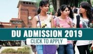 DU Admission 2019: Registration process for undergraduate courses will begin from this date