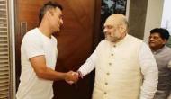 क्या धोनी लड़ने जा रहे हैं लोकसभा चुनाव, अमित शाह से मिलकर ज्वाइन की BJP ?