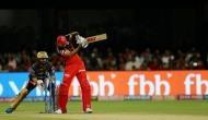 IPL 2019: कोहली-डिविलियर्स ने KKR के गेंदबाजों को धो डाला, RCB ने बनाए 205 रन