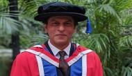 Shah Rukh Khan once again receives doctorate degree by London University of Law