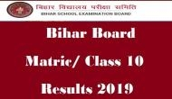Bihar Board Class 10th Result 2019: It's confirmed! Check your BSEB matric result before 1 pm; here's how to check