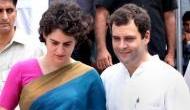 Non-Gandhi as Congress Boss: Rahul suggests, Priyanka Gandhi nods in approval