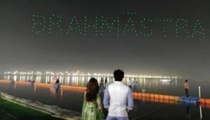 Brahmastra BTS Video: Alia Bhatt, Ranbir Kapoor starrer shares 'behind the scene' of logo launch at Kumbh Mela