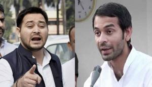 तेजस्वी के राजनीतिक सलाहकार को तेज प्रताप ने कहा प्रवासी, बोले- ख़ाक मेरे अर्जुन को मुख्यमंत्री बनायेगा