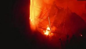Maharashtra: Fire broke out in shop in Tirora city; spread to 15 neigbouring shops