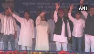 Congress ki Garibi Hatao natakbaazi dadi Indira ne bhi ki: Mayawati's dig at joint rally in Deoband