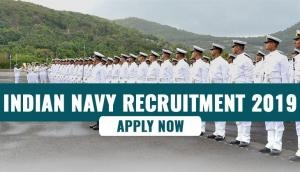 Indian Navy Recruitment 2019: Apply for 400 Sailor posts from this date; check eligibility criteria