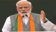 PM Modi to first time voters: 'Can your first vote be dedicated to those who carried out air strike'